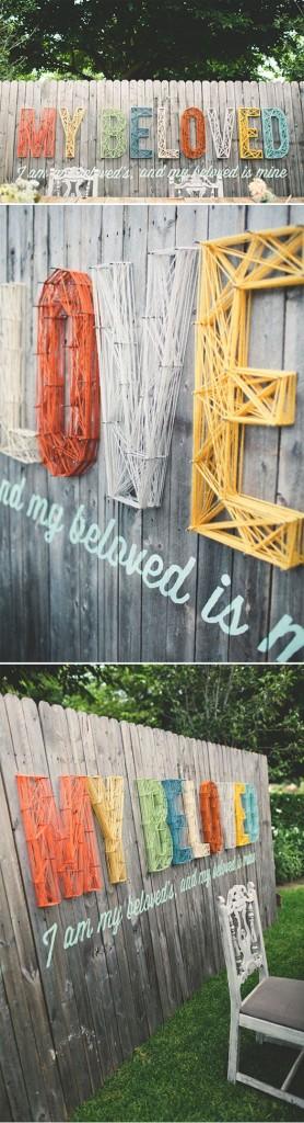 DIY WallArt Ιδέες για τον φράχτη του Κήπου σας15