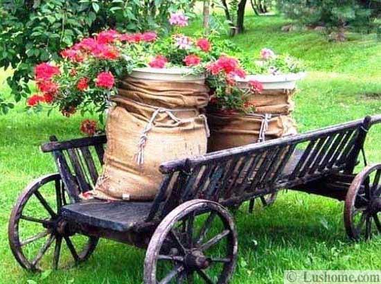 ασυνήθιστα δοχεία και γλάστρες για λουλούδια11