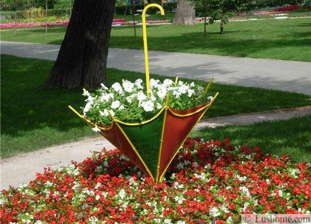 ασυνήθιστα δοχεία και γλάστρες για λουλούδια4