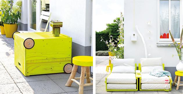 Καταπληκτική DIY εξωτερική πολυθρόνα2