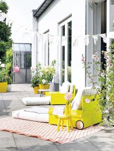 Καταπληκτική DIY εξωτερική πολυθρόνα3