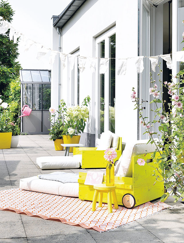 Απίθανος DIY κάθετος κήπος από pvc σωλήνες