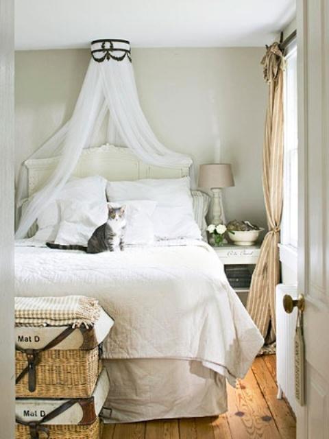 ιδέες με Κουνουπιέρες για την κρεβατοκάμαρά16
