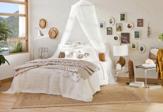 ιδέες με Κουνουπιέρες για την κρεβατοκάμαρά3