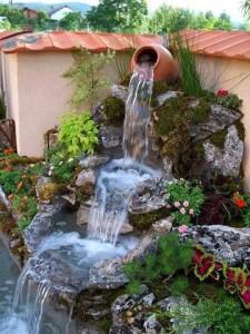 Όμορφα Συντριβάνια Κήπου2