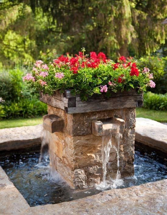 Όμορφα Συντριβάνια Κήπου3