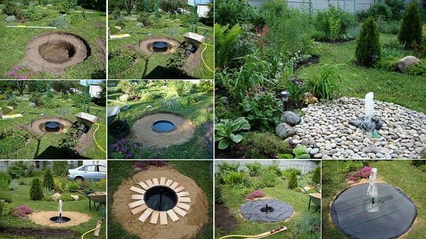 Όμορφα Συντριβάνια Κήπου6