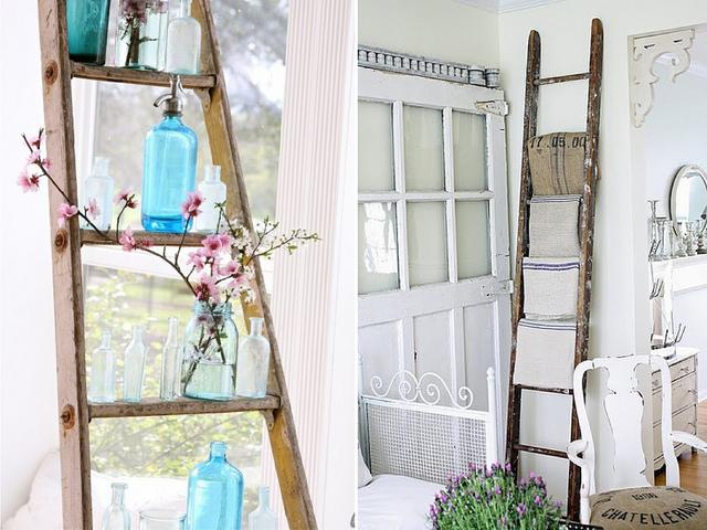 DIY Σπίτι: Σκάλες για αξεσουάρ