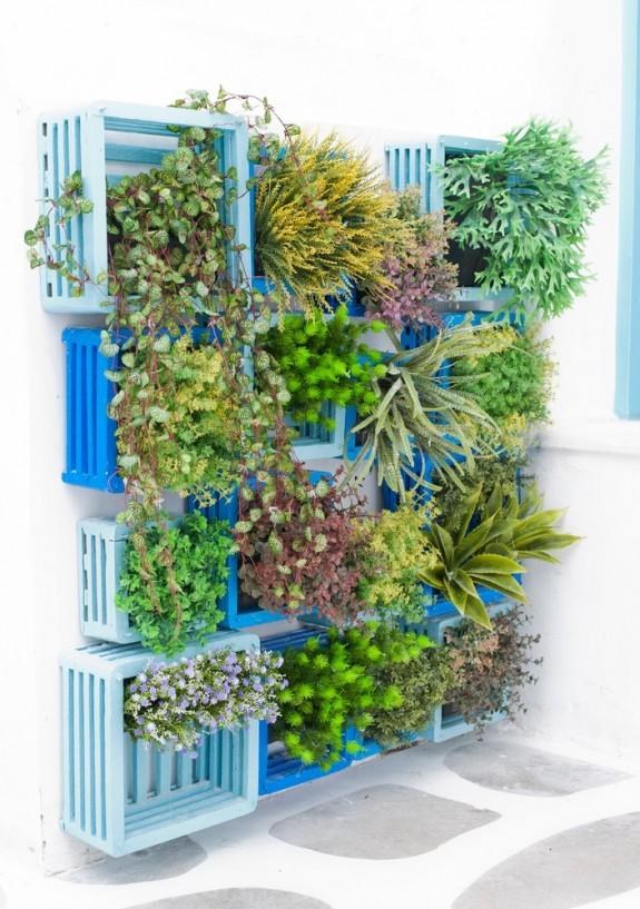 Φυτεύοντας στον τοίχο: Ενδιαφέρουσες ιδέες