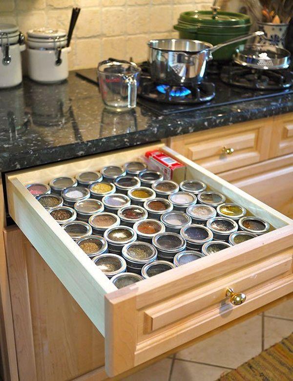 Έξυπνες Συμβουλές και Ιδέες αποθήκευσης και Οργάνωσης Κουζίνας 16