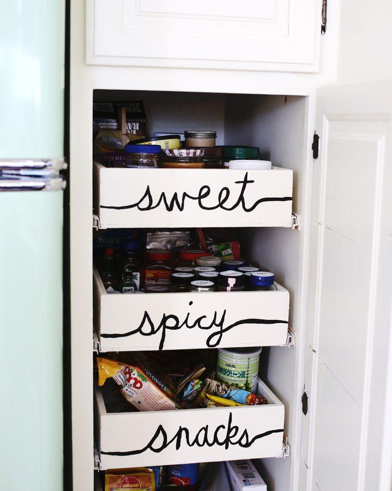 Έξυπνες Συμβουλές και Ιδέες αποθήκευσης και Οργάνωσης Κουζίνας 17