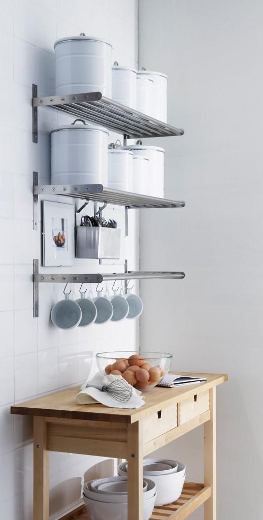 Έξυπνες Συμβουλές και Ιδέες αποθήκευσης και Οργάνωσης Κουζίνας 2
