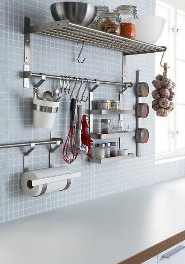 Έξυπνες Συμβουλές και Ιδέες αποθήκευσης και Οργάνωσης Κουζίνας 3
