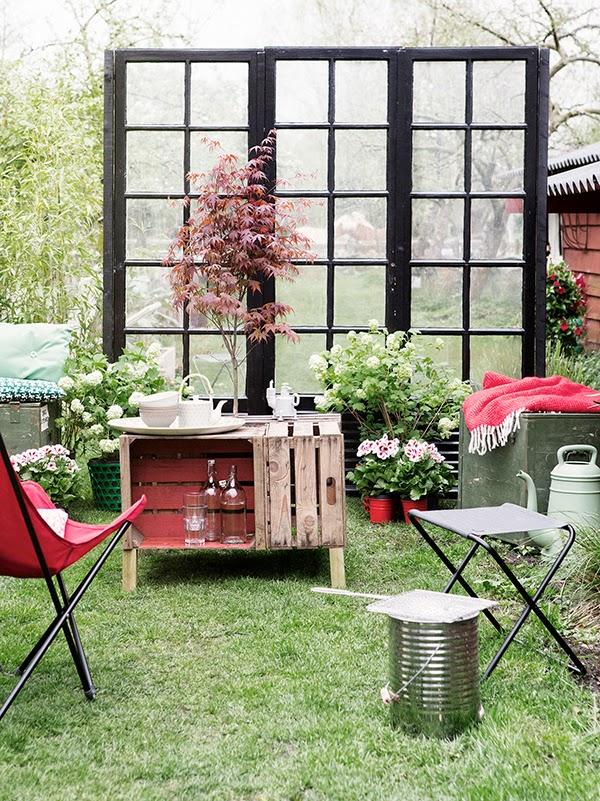 Υπέροχος κήπος με Diy στυλ5