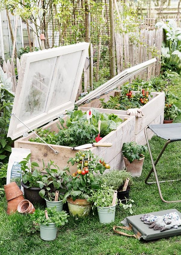 Υπέροχος κήπος με Diy στυλ6