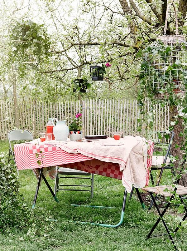 Υπέροχος κήπος με Diy στυλ7
