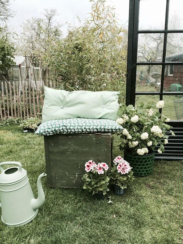 Υπέροχος κήπος με Diy στυλ9