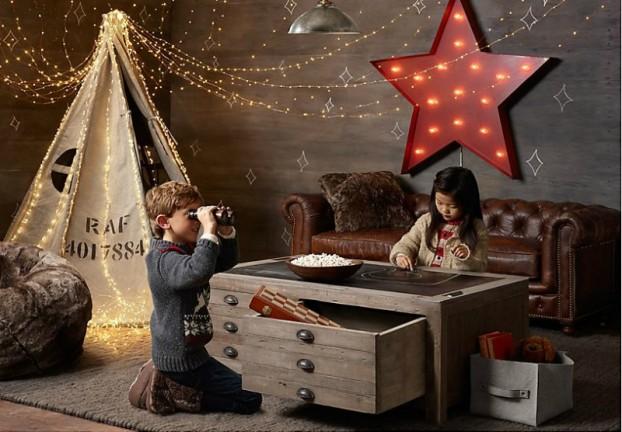 Vintage Βιομηχανικά Παιδικά Playroom1