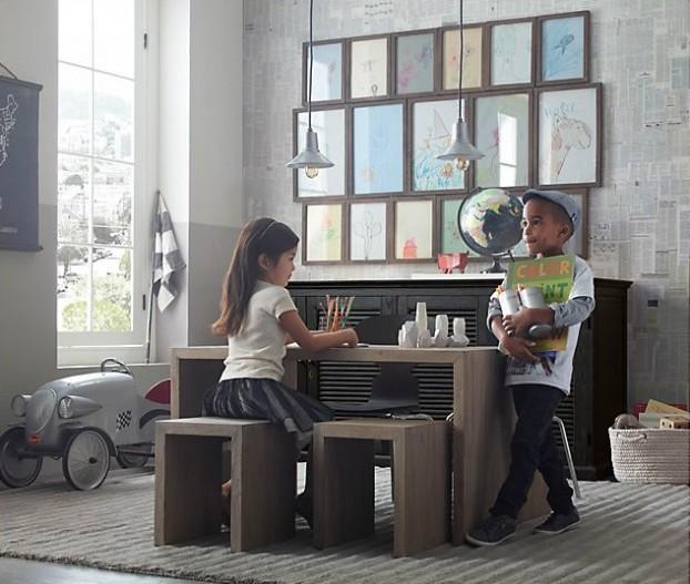 Vintage Βιομηχανικά Παιδικά Playroom14