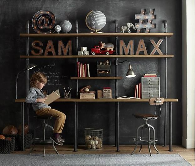 Vintage Βιομηχανικά Παιδικά Playroom16