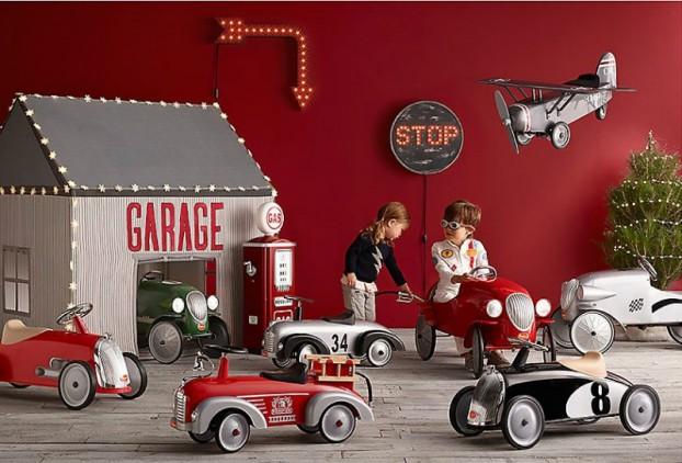 Vintage Βιομηχανικά Παιδικά Playroom20