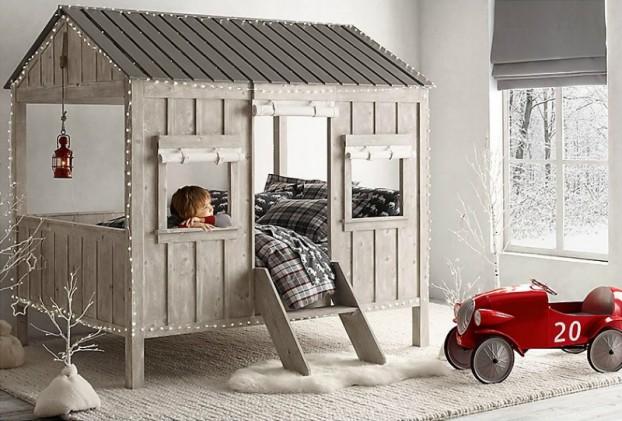 Vintage Βιομηχανικά Παιδικά Playroom36