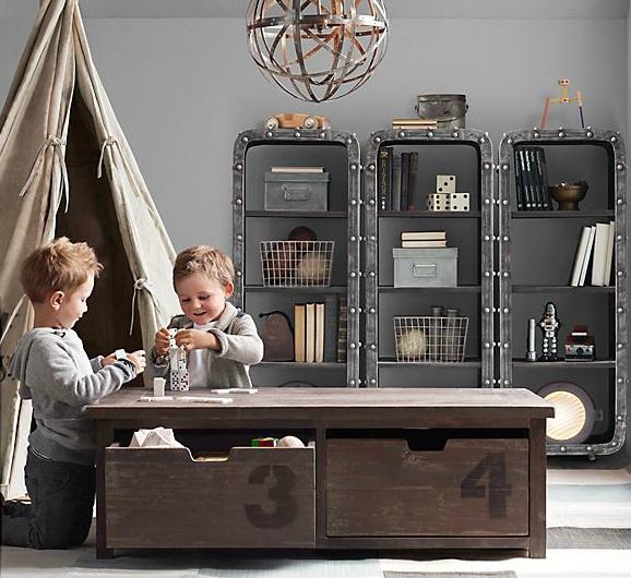 Vintage Βιομηχανικά Παιδικά Playroom9
