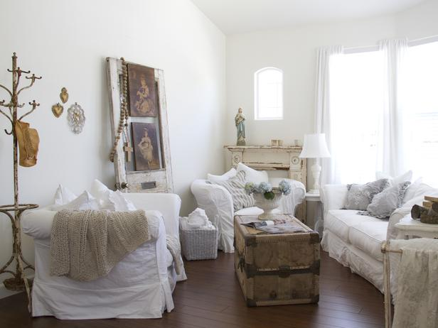 shabby chic διακόσμηση ιδέες13