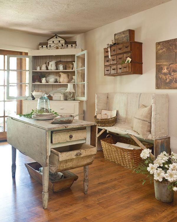 shabby chic διακόσμηση ιδέες20