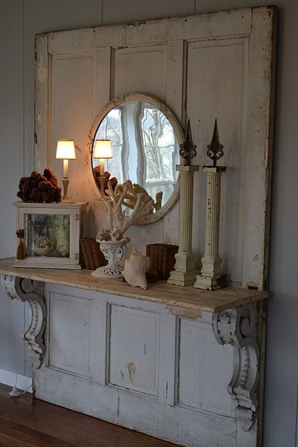 shabby chic διακόσμηση ιδέες8