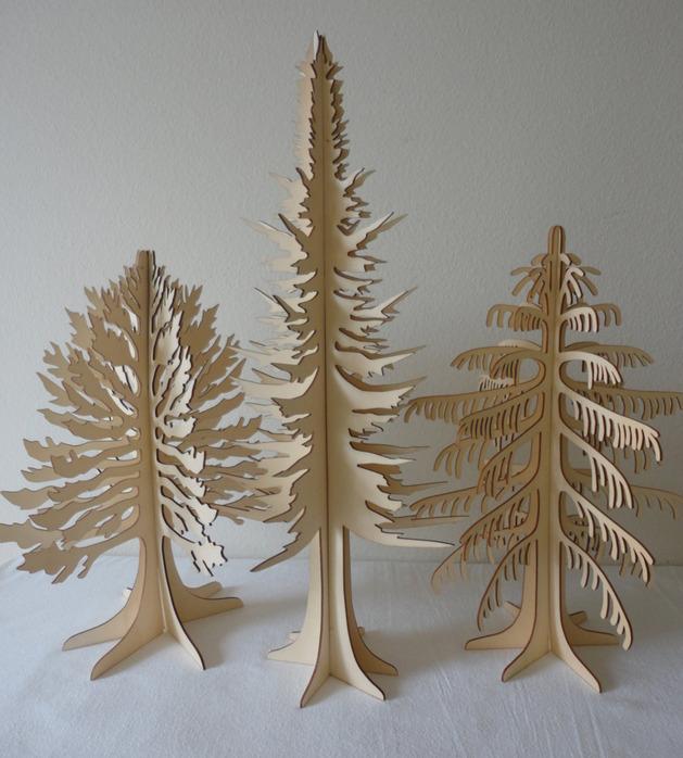 Επιτραπέζια χριστουγεννιάτικα δέντρα11