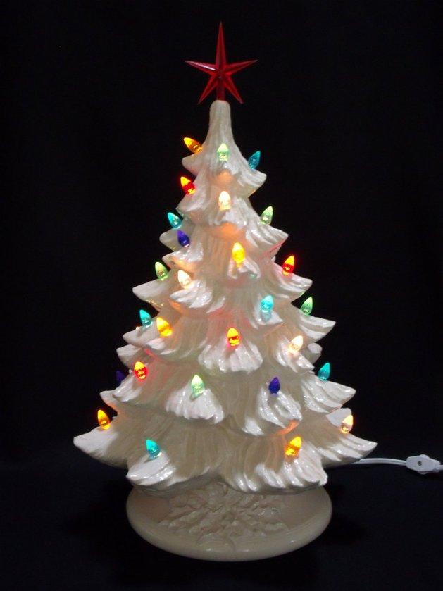Επιτραπέζια χριστουγεννιάτικα δέντρα13