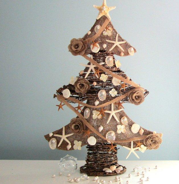 Επιτραπέζια χριστουγεννιάτικα δέντρα16