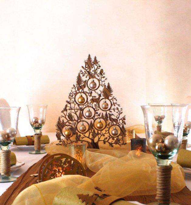 Επιτραπέζια χριστουγεννιάτικα δέντρα5