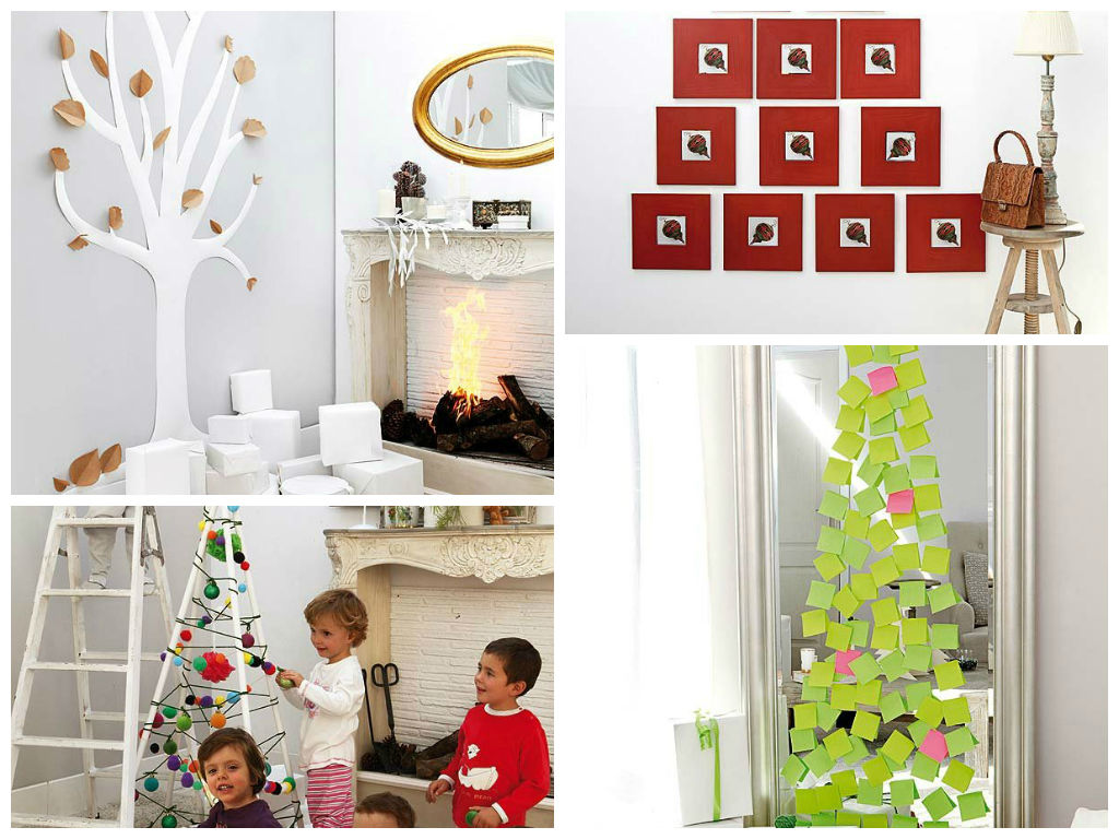 Πρωτότυπα μοδάτα χριστουγεννιάτικα δέντρα