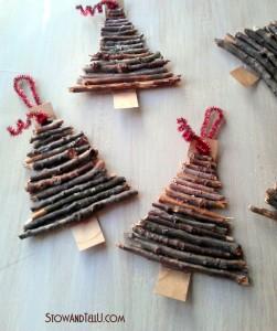 Ρουστικ Diy Γιορτινές διακοσμήσεις1