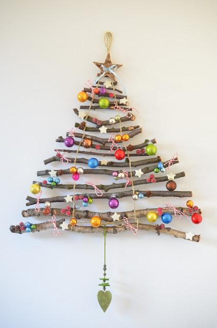 Ρουστικ Diy Γιορτινές διακοσμήσεις3
