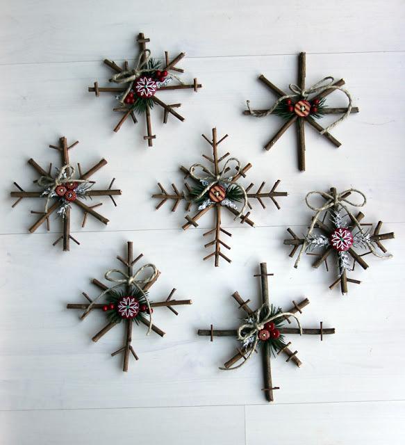 Ρουστικ Diy Γιορτινές διακοσμήσεις7
