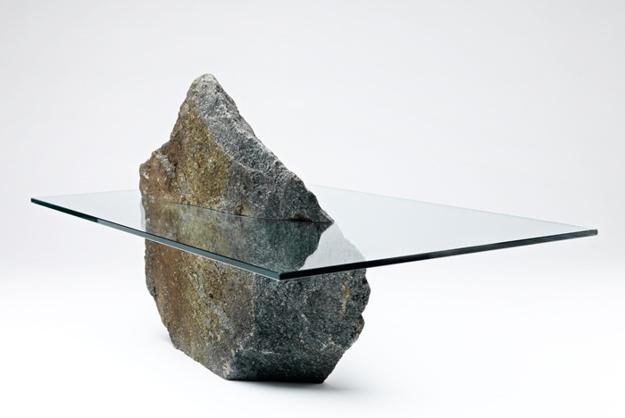 Σύγχρονες Ιδέες Σχεδιασμού επίπλων με Οικολογικό στυλ που φέρνουν την πέτρα και το ξύλο στα σπίτια σας