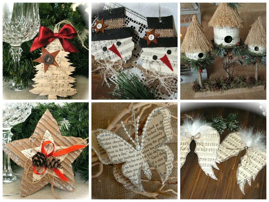 Ανακύκλωση χαρτιού για οικολογικά Χριστουγεννιάτικα στολίδια