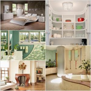Ιδέες για να διακοσμήσετε το εσωτερικό του σπιτιού σας  με Καμπύλες
