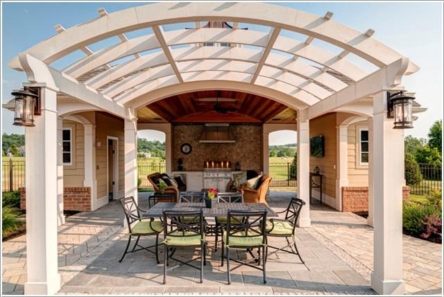 Ιδέες για να διακοσμήσετε το εσωτερικό του σπιτιού σας  με Καμπύλες13
