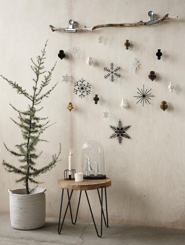 διακόσμησεις με κλαδιά για τα χριστούγεννα2