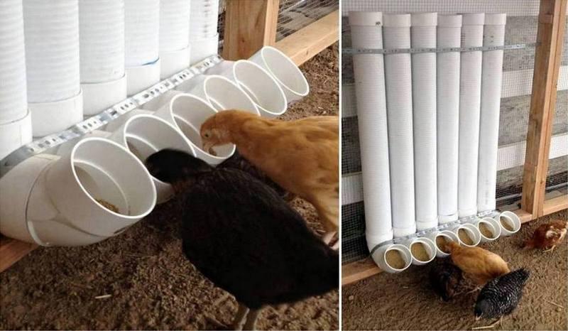 ιδέες με PVC σωλήνες για το σπίτι1
