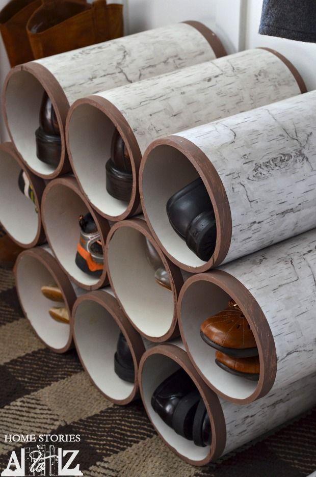 ιδέες με PVC σωλήνες για το σπίτι14