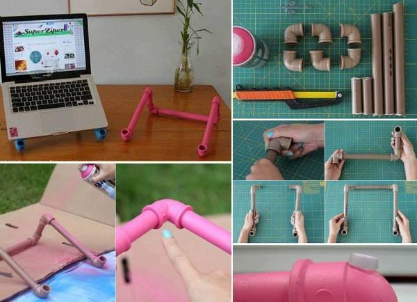 ιδέες με PVC σωλήνες για το σπίτι9