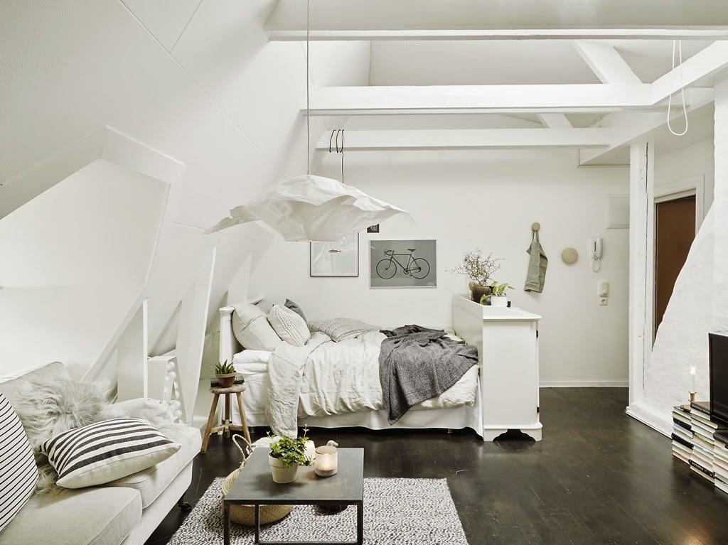 Ένα μικρό διαμέρισμα γεμάτο γοητεία