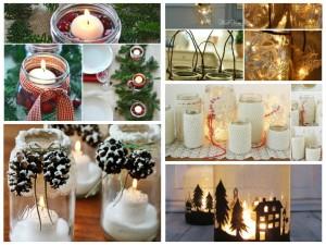 12 Χριστουγεννιάτικες κατασκευές με βάζα