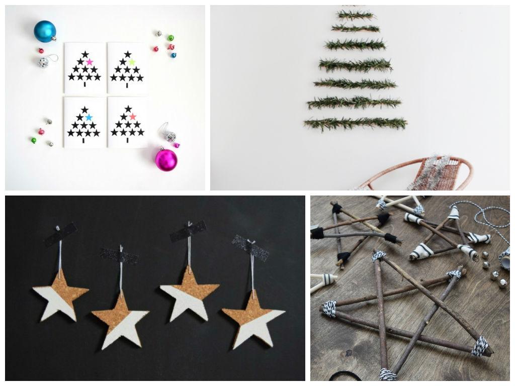 7 Απίθανες DIY Μοντέρνες Χριστουγεννιάτικες διακοσμήσεις