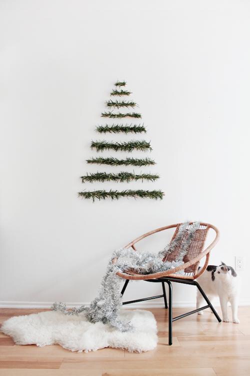 DIY Μοντέρνες Χριστουγεννιάτικές διακοσμήσεις5
